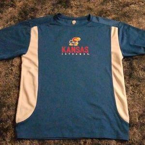 Kansas jayhawks tshirt